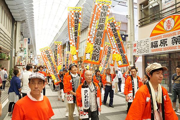 岸和田歌舞伎公演 お練り